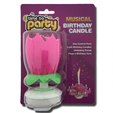 Time to Party Musical Birthday Candle