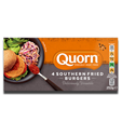 Quorn 4 Southern Fried Burguers 252g