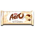 Nestlé Aero Snowy White Chocolate Bar 90g