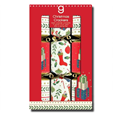 Giftmaker 9 Christmas Crackers Mini Contemporary