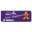 Cadbury Dairy Milk Winter Gingerbread 120g