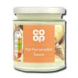 Coop Hot Horseradish Sauce 175g