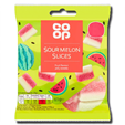 Coop Jelly Sour Watermelon Slices 65g