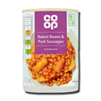 Coop Baked Beans & Pork Sausages 405g