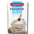 Amanhecer Farinha De Trigo Sem Fermento 1Kg
