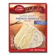 Betty Crocker Super Moist French Vanilla Cake Mix 432g