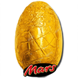Mars Chocolate Egg in Gold Foil 185g