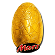 Mars Chocolate Egg in Gold Foil 90g