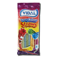 Vidal Gomas Sour Colour Straws 100g