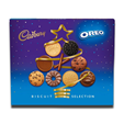 Cadbury Oreo Christmas Biscuit Selection Carton 500g