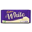 Cadbury Creamy White Chocolate Bar 180g