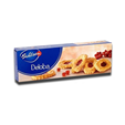 Bahlsen Deloba Puff Pastry Biscuits Filling Redcurrant 100g