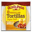 Old El Paso 8 Corn & Wheat Tortillas 335g