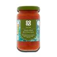 Coop Italian Tomato & Basil Stir in Pasta Sauce 190g