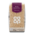 Coop Brown Basmati Rice 500g