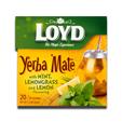 Loyd Yerba Mate tea with mint, lemon grass, lemon flavor 34g