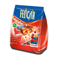 Uniconf Felicità 6 Chocolate Bars with Caramel, Peanuts and Cranberries 125g