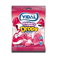 Vidal Gomas Strawberry & Cream Drops 100g