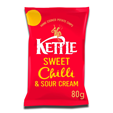 Kettle Sweet Chilli & Sour Cream Chips 80g