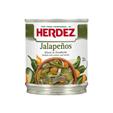 Herdez Pickled Sliced Jalapeños 190g