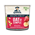 Quaker Oat So Simple Banana & Strawberry Cup 58g