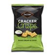 Jacobs Cracker Crisps Sour Cream & Chive 150g