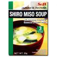 S&B Shiro Miso Soup With Japanese Crouton & Seaweed & Green Onion 30g