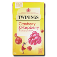 Twinings Cranberry Raspberry Elderflower 20's