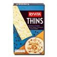 Ryvita Thins Cheddar & Black Pepper 125g