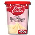 Betty Crocker Vanilla Buttercream Icing 400g