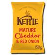 Kettle Chip Cheddar & Onion 150g