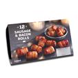 Iceland 12 Sausage & Bacon Rolls 252g