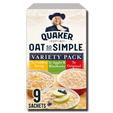 Quaker Oat So Simple Variety 9's 297g