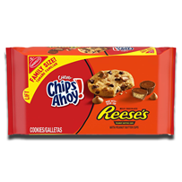 Nabisco Chips Ahoy & Reese's Peanut Butter Cup Cookies 269g