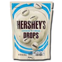 Hershey's Cookies N Cream Drops Pouch 80g
