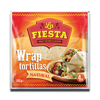 La Fiesta Wrap Tortillas Natural 245g