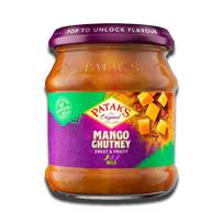 Patak's Chutney Mango Mild Heet 340g