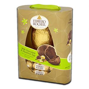 Ferrero Rocher Milk chocolate Hazelnut Egg 275g