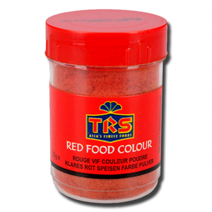TRS Red Food Colour Powder 25g