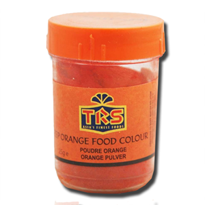 TRS Orange Food Colour Powder 25g
