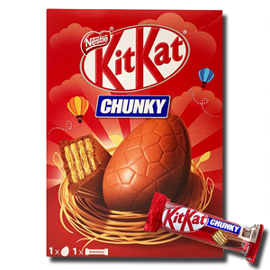 Nestlé Kit Kat Chunky Chocolate Egg 129g