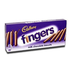 Cadbury Fingers Milk Chocolate 114g