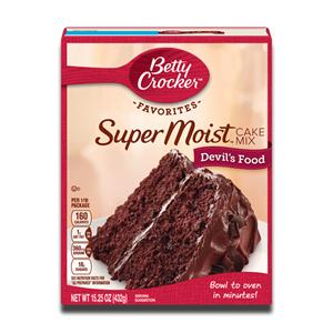 Betty Crocker Super Moist Devil's Food 432g