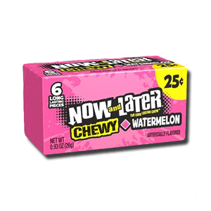 Now and Later Watermelon 6'
