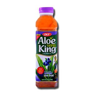 OKF Aloe Vera King Blueberry Drink 500ml
