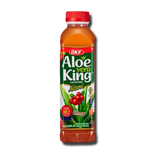 OKF Aloe Vera King Cranberry Drink 500ml