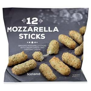 Iceland Mozzarella sticks 12' 180g