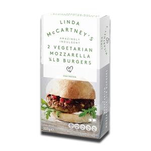 Linda McCartney Mozarella Burger 227g