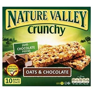 Nature Valley Crunchy Oats & Chocolate 5x2 bars
