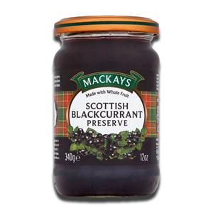 Mackays Scottish Blackcurrant Preserve 340g